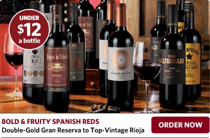 Bold & Fruity Spanish Reds