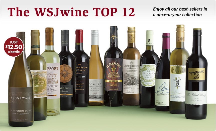 The WSJwine TOP 12