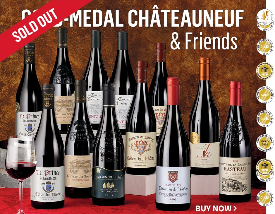 Gold Medal Rhone Reds