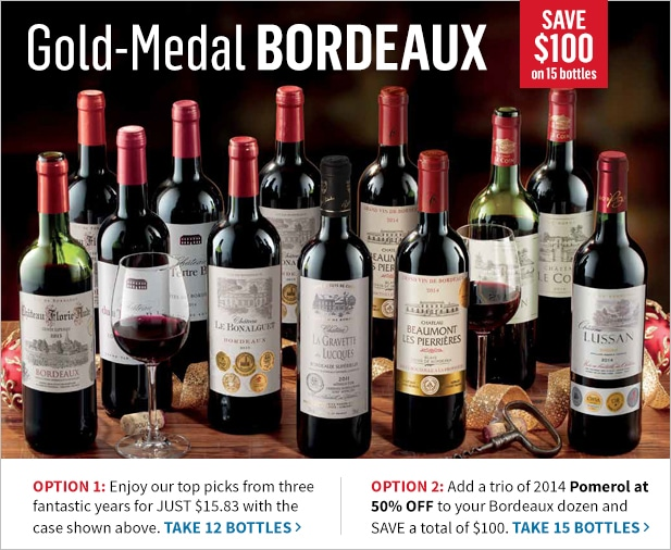 Gold Medal Bordeaux