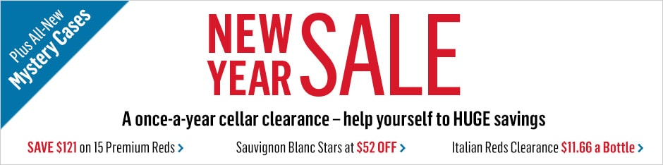Our BIG New Year Sale Starts NOW