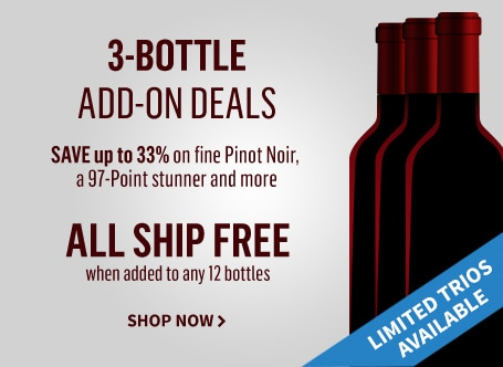 3 Bottle Add-on Deals