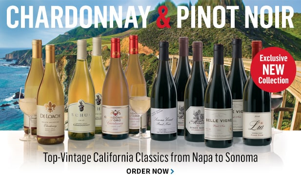 The California Chardonnay & Pinot Noir Mix