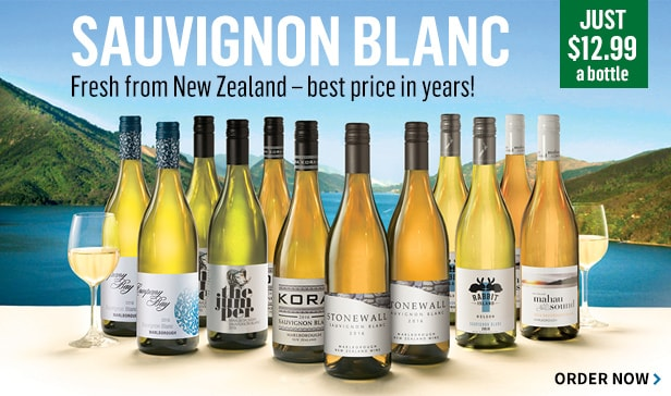 Fresh 2016 New Zealand Sauvignon