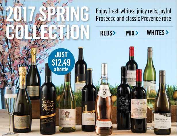 WSJwine Spring Collection