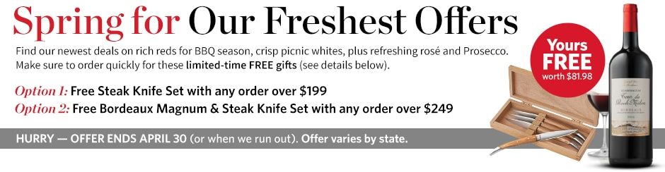 Spring for Our Freshest Offers