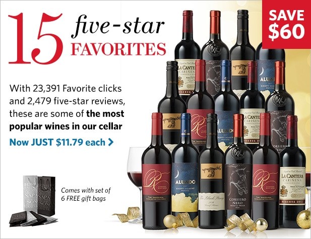 WSJwine All-Star Holiday Reds