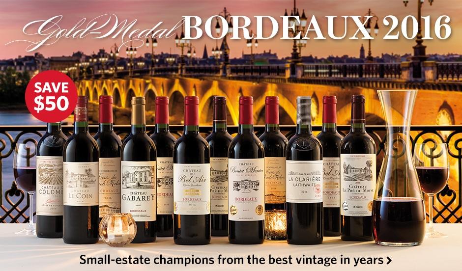 Gold-Medal Bordeaux 2016