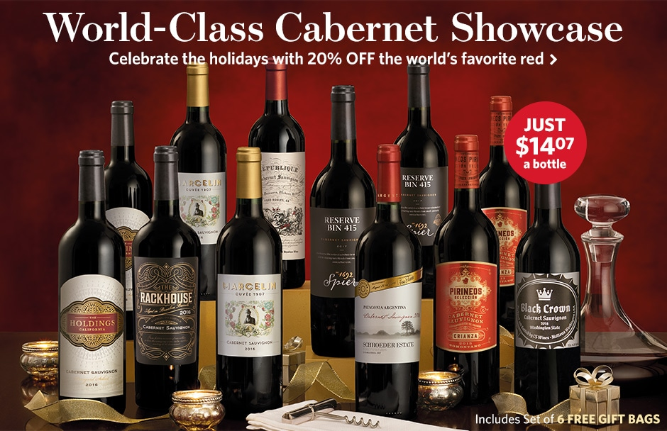 World-Class Cabernet Collection