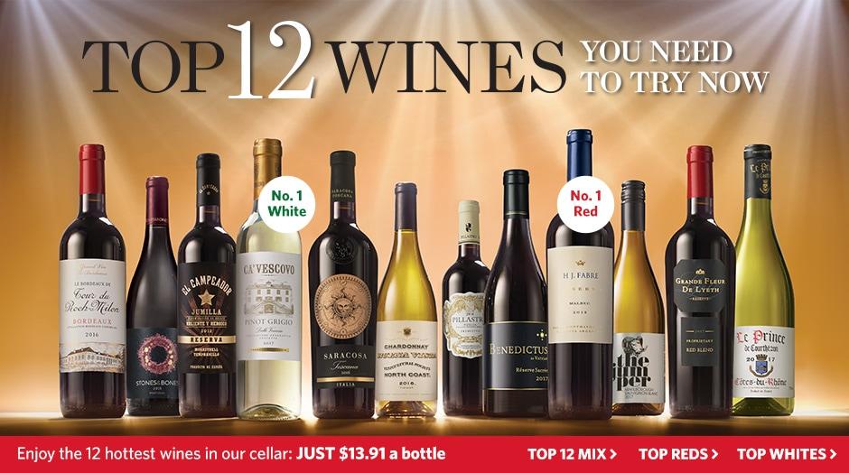 Top 12 Wines