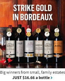 Gold-Medal Bordeaux Showcase