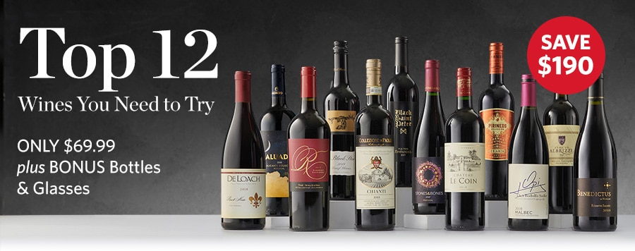 12 Award-Winning Wines for $70...